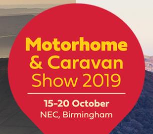 Motorhome and Caravan Show 15th – 20th October