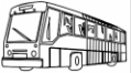 Click on the image for an interactive map showing local busses and routes